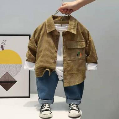Комплект рубашка с джинсами