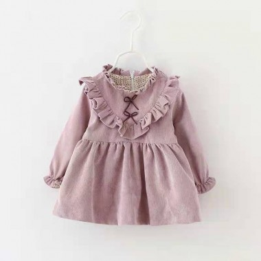 Платье вельветовое