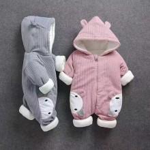 Комбинезон для малышей, серый