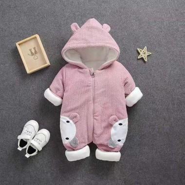 Комбинезон для малышей, розовый