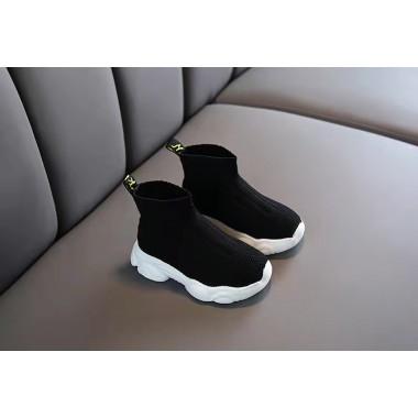 Тканевые кроссовки ,черные